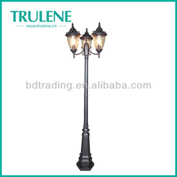 Antique outdoor solar garden lighting