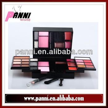 Make up kit 23 colors cosmetic eyeshadow kit &10 colors eyeshadow&11 colors lip gloss& 2 colors blush eyebrow pen #1