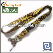 Sublimation polyester neck straps, Fashion polyester lanyards