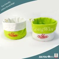 Eco-friendly cotton Bread Bags