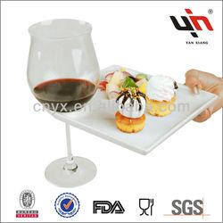 Super White Ceramic Plate