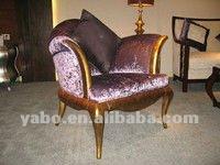 De moda del hotel silla de madera