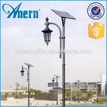 High Brightness 20w/70w/3.5m Die Cast Aluminum Solar Garden Light 3.5m High Garden Solar Light