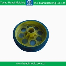 plastic tire shaft worm gear of mould for plastic injection