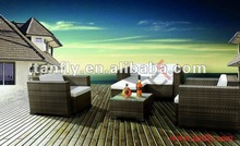 wicker home furniture sofa, rattan leisure garden sofa