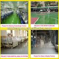 Solvente- livre de poliuretano piso tinta/revestimento para a fábrica de garagem