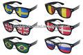 2015 promoção novo estilo pinhole óculos de sol com impressão do logotipo personalizado na lente de óculos de sol jerry