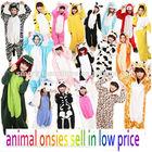2014 lastest 120 different animal costumes plain adult onesie