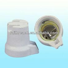 Lowest price!!!ceramic screw shell lamp base E27 FR519-2