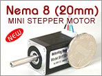 8H2A(8HY) Mini Stepper Motor - 20mm (1.8 Degree)