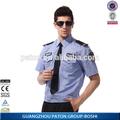 Seguridad baratos uniforme de camisa, personalizar el guardia de seguridad ropa de trabajo uniforme