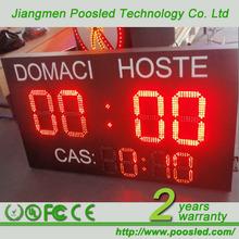 led electronic digital basketball scoreboard