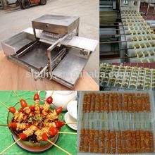 China melhor vendendo espetinho de frango máquina/kebab espeto máquina/espeto automático da máquina