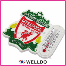 personalized pvc fridge magnet with thermometer
