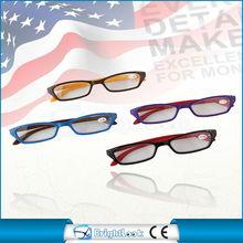 2014 most fashionable reading glasses nice quality reading glasses wholesale cat eye designer led reading glasses CE/FDA BRP3432
