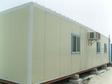 CE certificate fast assembling prefab sandwich panel container house for living/office