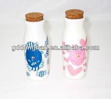 china factory direct fashion ceramic salt and pepper shaker lids