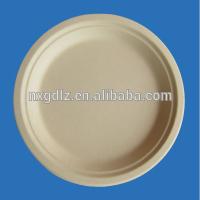 "Eco-smart Nactual Bamboo Fiber 7"" Round Plate"