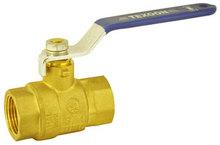 Forged NPT full port brass ball valve with new bonnet steel handle CSA FM UL CUPC AB1953 NSF61