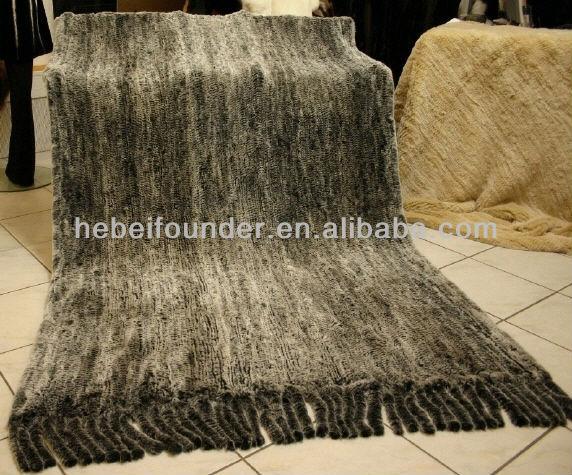 Rex Rabbit Fur Blanket Rex Rabbit Fur Blankets