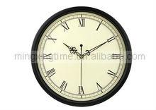antique brass round metal wall clocks