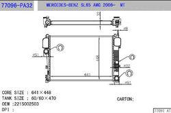 car radiator77096-PA32