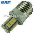 260lm 2.5w smd 5050 led lampada e27 24v