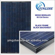 Monocrystalline Solar Modules 60 Cell Series 200W