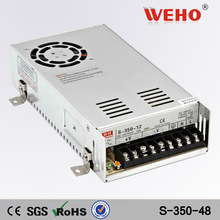 CE RoHS approved Single output voltage switching mode power supply 350w ac to dc 48v power supply