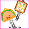 high quality cute plastic car key cover