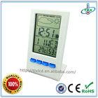 2014 Electric LCD Calendar Clock With Temperature Meter