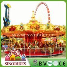 Best-selling carousel ride,whirligig!China carousel amusement park equipment,carousel amusement park equipment