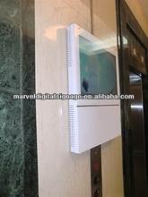 elevator advertising screen 22 inch lcd usb video media player
