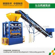 portable cement brick making machine|portable concrete brick press|portable pavement making machine qt4-26 (DONGYUE BRAND)