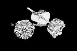 diamond earring, diamond earrings for girls