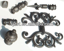 cast iron fence ornaments