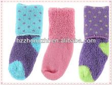 baby 100% cotton socks/baby thermal socks/ fashion baby winter socks