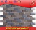 新しいデザイン佛山メッキストリップキューブ中国の真珠の母貝のガラスモザイクタイル