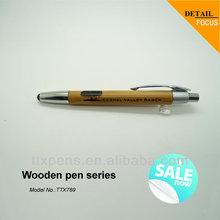 Wooden ballpoint pen for promotion,eco smart pen
