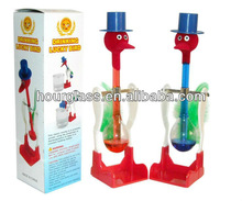 Small Size Glass Drinking Bird In Action/Drinking Duck