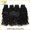 2014 unprocessed virgin cheap brazilian water wave hair extensions