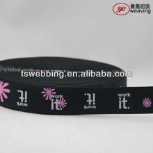 Jacquard elastic tape for underwear