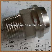 DIN male female thread pipe tube union connector(union m/f)