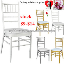 white wedding tiffany chairs