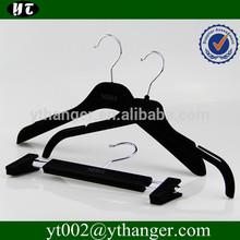 YV-02 black velvet hangers for clothes