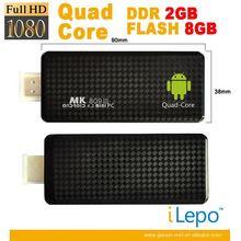 2014 Low Price Bulk Wholesale 8Gb Net Quad Core Android Pc Dongle
