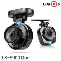 LUKAS LK-5900 DUO/2CH Dash Cam/Car DVR/D Built-in GPS/Dashboard Camera/Korea