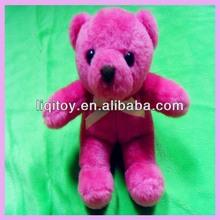 Fantasia borgonha macio urso de brinquedo de pelúcia