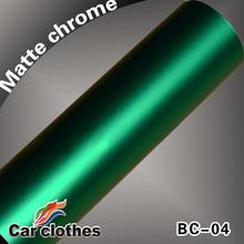 Guanantee 100% Matte Chrome Vinyl Matt Metallic