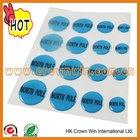 customized adhesive silicone sticker rubber sticker